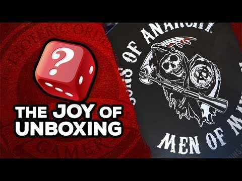 The Joy of Unboxing: Sons of Anarchy