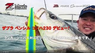 ザブラ ペンシル コノハ230 デビュー!