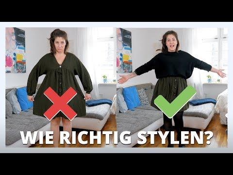 GROßE GRÖßEN RICHTIG STYLEN | Mode Trends als Frau mit Kurven | #kleinundkurvig