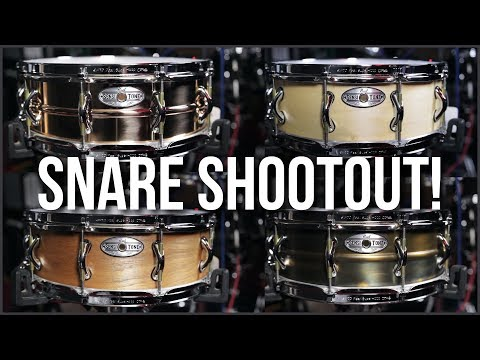 Pearl Sensitone Snare Drum Comparison | ABBDRUMS.COM