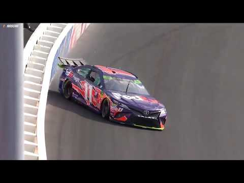 Hamlin, others get damage in qualifying at Charlotte Roval