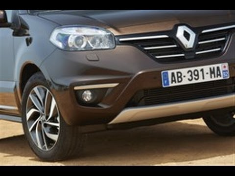 New Renault Koleos test drive by RENAULT TV