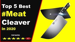 Top 5 Best Meat Cleaver in 2020 (Buying Guide)