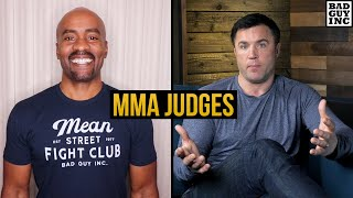 An excellent question about MMA judges from Glenn Bell...