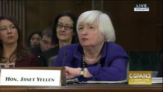 Menendez Questions Janet Yellen on healthcare, Consumer Financial Protection, and Diversity