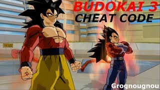 Dragonball Z Budokai 3 Cheat codes : Infinite Ki
