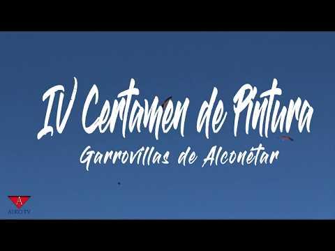 IV Certamen de pintura rápida en la Plaza porticada de Garrovillas de Alconétar