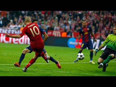 ARJEN ROBBEN Top 10 goals of his career