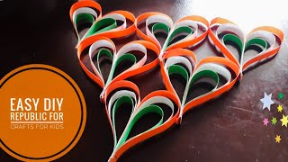 Republic Day Special Craft For Kids Easy To Make Free Video Search