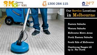 Sk tile and grout cleaning services
