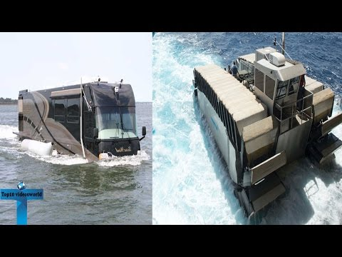 10 Of The Amphibious Vehicles Around The World   Vehicles You Can Drive In Both Land And In Water