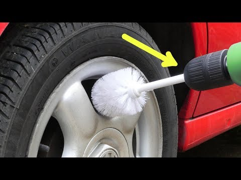 What Else Can It Clean? Drill & Loo Brush Life Hacks