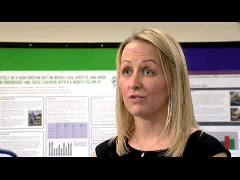 Video thumbnail of Research examining the risk of childhood obesity based on level of deprivation in Leeds