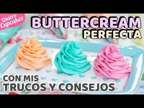 Prepara Una Buttercream Americana Perfecta Para Tus Cupcales