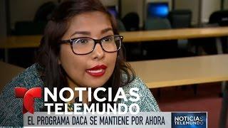 El programa DACA sigue vigente | Noticiero | Noticias Telemundo