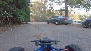 Long range fpv rc car adventure 1/5 baja 5t