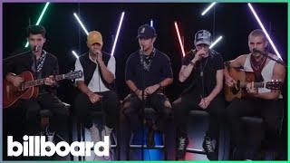 CNCO Performs 'Se Vuelve Loca (Spanglish)' Acoustic! | Billboard Live