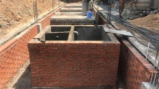 Cấu Tạo Hầm Tự Hoại Nhà Phố | Quy Trình đặt ống Cho Hầm Tự Hoại   Kho Tư Liệu Xây Dựng