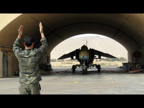 Syria airbase attack: As it happened