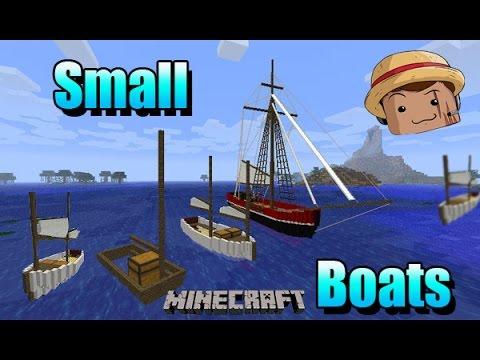 Barco no minecraft que anda(com mod boats and ships