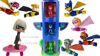 Learning Colors for Children with Transforming PJ Masks & Paw Patrol Super Pups | Fizzy Fun Toys