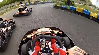 preview picture of video 'Paris Kart Indoor (PKI - Wissous) karting sur la piste intérieure et extérieure (double piste)'