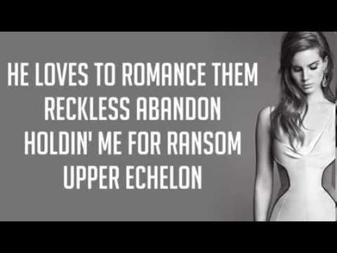 National Anthem - Lana Del Rey Lyrics (With Monologue)