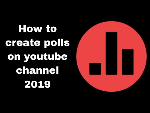 How to create polls on youtube channel 2019