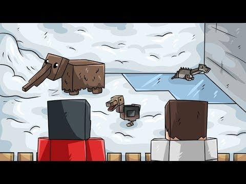 ZIMNÍ DINOSAUŘI A VÝBĚH! (Minecraft Dinosauři #27)