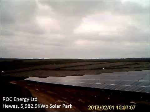 Hewas Solar Park Construction