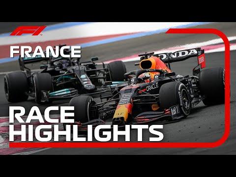 フェルスタッペンが優勝!F1第7戦フランスGP(ル・キャステレ)の決勝レースハイライト動画