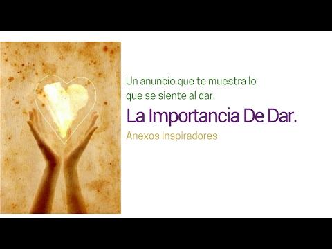 La Importancia De Dar. The Importance Of Giving