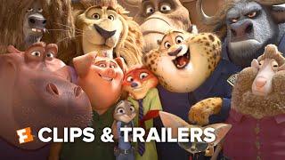Zootopia ALL Clips + Trailers (2016) | Fandango Family