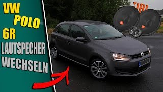 VW POLO 6R Lautsprecher Wechseln..