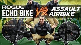 Assault AirBike vs Rogue Echo Bike!