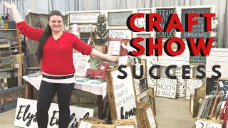 Craft Show Success | Largest Show | Holiday Handmade | Make More Money Selling Handmade