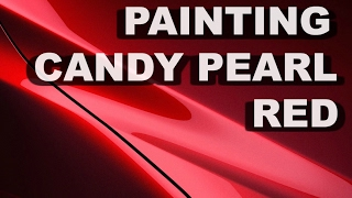 COMPLETE PAINTING GUIDE 2014 TOYOTA CAMRY CANDY RED PEARL
