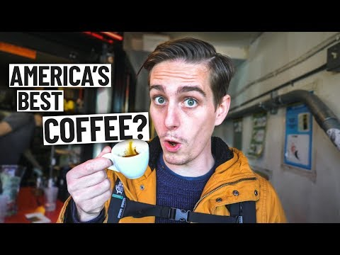 Trying the BEST COFFEE IN AMERICA!? (Seattle, Washington)