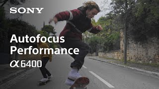 YouTube Video 5hHT5XygrmQ for Product Sony A6400 (ILCE-6400) APS-C Mirrorless Camera by Company Sony Electronics in Industry Cameras