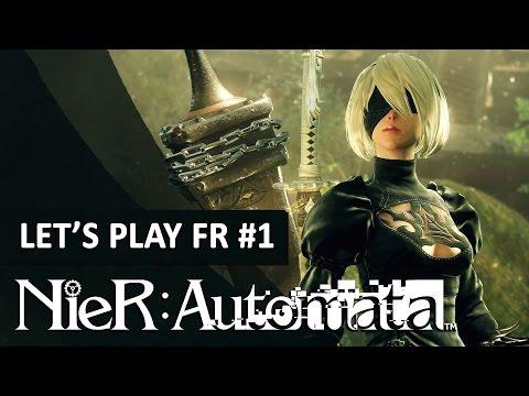 NIER AUTOMATA : Un prologue prometteur !   LET'S PLAY FR #1