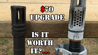 What are the benefits of a muzzle brake?... Do you really need the upgrade?