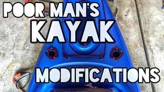 Poor Mans Kayak Modifications