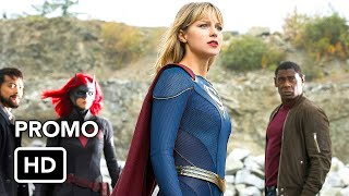 "Сериалы CW, DCTV Crisis on Infinite Earths Crossover ""No Way Out"" Promo (HD)"