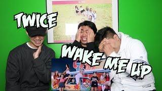 TWICE   WAKE ME UP MV REACTION (REAL TWICE FANBOYS)