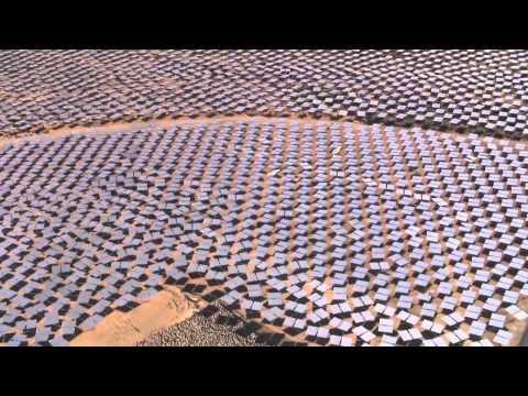 Projekt Ivanpah na kalifornijskiej pustyni Mojave