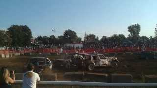 preview picture of video 'Pro Mod Tillsonburg Demo Derby 2013'