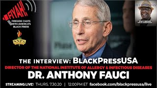 Dr. Anthony Fauci Discusses the Impact and Severity of COVID-19 Disparities in African Americans