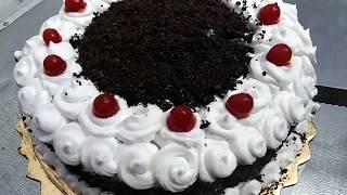 How To Make Black Forest Cake // NO Egg // NO Oven