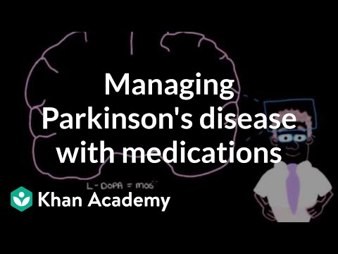 Video Managing Parkinson's disease with medications | Nervous system diseases | NCLEX-RN | Khan Academy