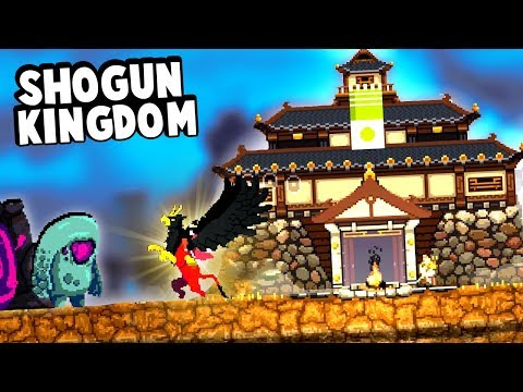 Legendary Gryphon Defends Japanese Kingdom from the Greed in Kingdom Two Crowns Shogun Mode!